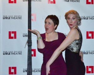 Lacey and Danielle McNamara at the Opening Night Gala for Singin' in the Rain