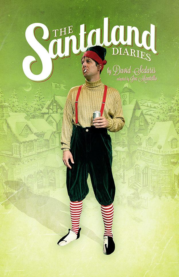 The Santaland Diaries Poster